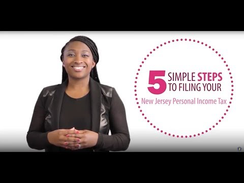 How To Complete Your NJ Tax Return In 5 Simple Steps