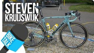 Video Bike Talk - Steven Kruijswijk about his Bianchi Oltre XR2   SHIMANO download MP3, 3GP, MP4, WEBM, AVI, FLV Juni 2018