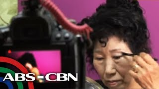 Bandila: Lola sa South Korea, patok sa make-up tutorial videos