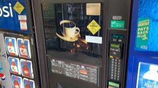 American Compared to Japanese Coffee Vending Machine