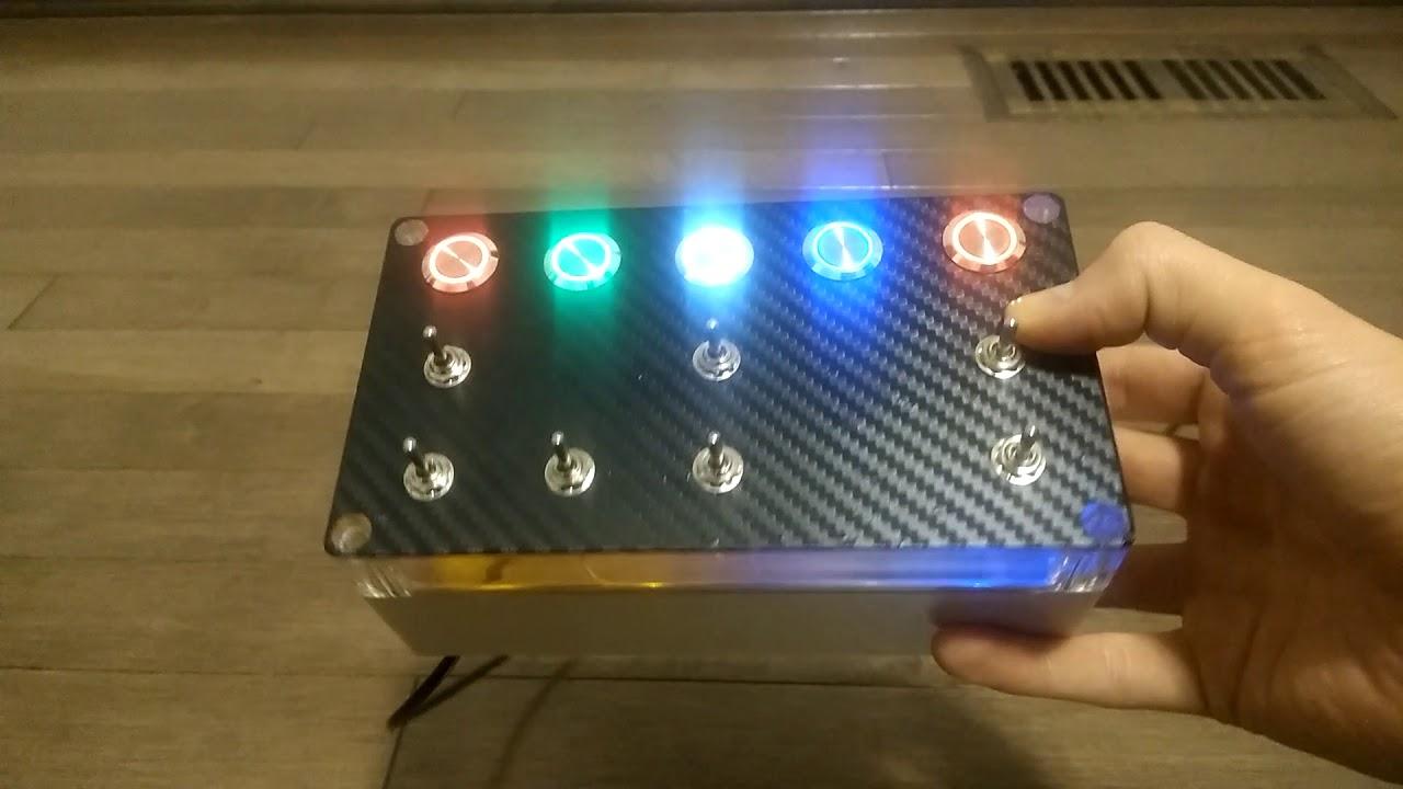 PS4/PC LED Button Box - Original