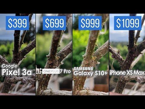 Best Camera? $399 Pixel 3a vs $669 OnePlus 7 Pro vs $999 Galaxy S10+ vs $1099 iPhone XS Max