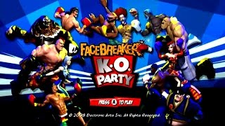 Facebreaker: K.O. Party Wii Gameplay