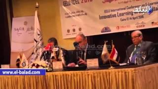 بالفيديو والصور.. صندوق تطوير التعليم ينظم المؤتمر الدولي للتعلم الإلكتروني