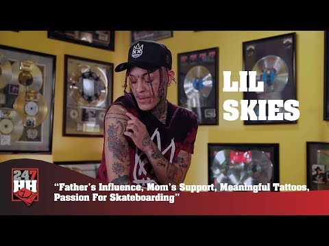 Lil Skies - Family Influence, Meaningful Tattoos, Passion For Skateboarding (247HH Exclusive)