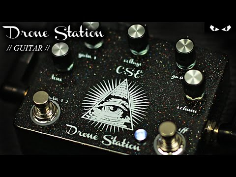 Center Street Electronics - Drone Station - GUITAR Demo
