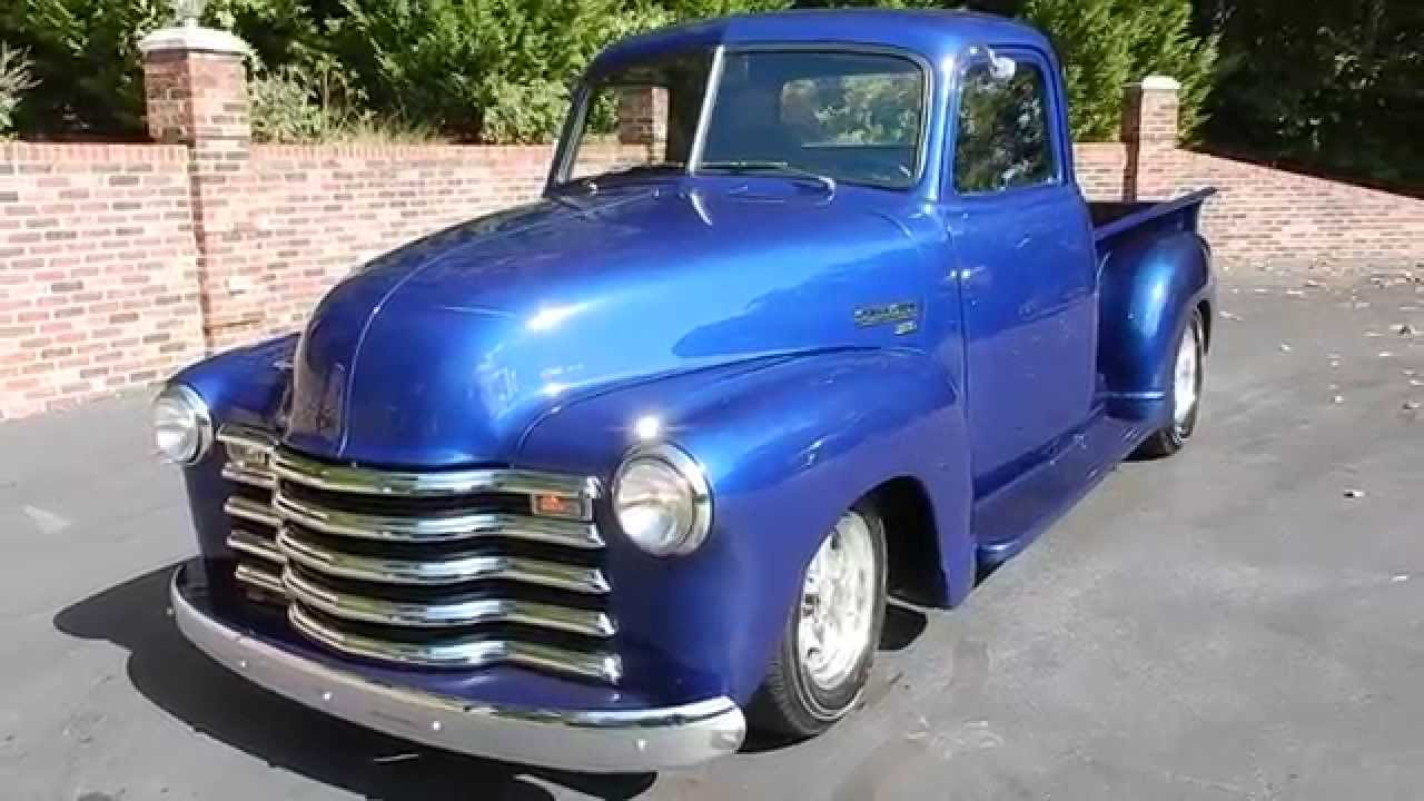 1950 Chevy Truck In Blue For Old Town Automobile Maryland You