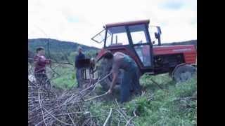 Rębak do gałęzi samoróbka ( ŠTĚPKOVAČ , Homemade Wood Chipper ) + Ursus C-360