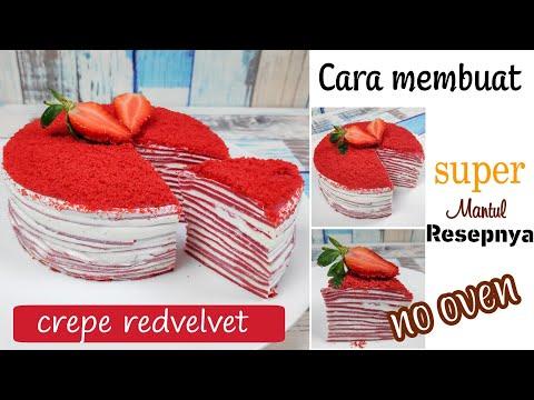 cara-membuat-crepe-cake---rasa-redvelvet-|-tanpa-oven