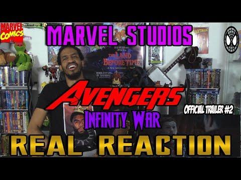 Marvel Studios' Avengers: Infinity War Official Trailer #2....Real Reaction
