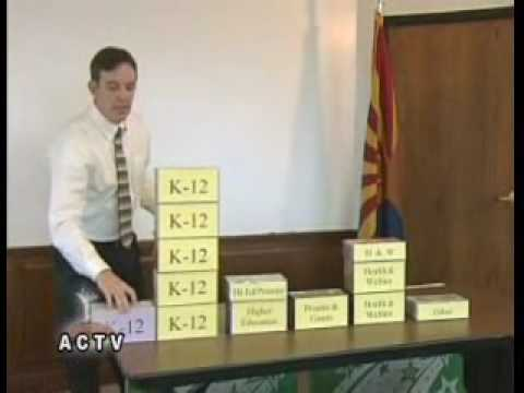 Part 1 Arizona Secretary of State Ken Bennett Budget Presentation