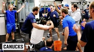 Canucks Team Building Exercises - All Access