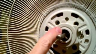 Fan instructions video.