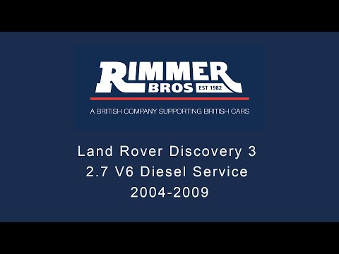 Land Rover Discovery 3 2.7 V6 Diesel service. 2004-2009.