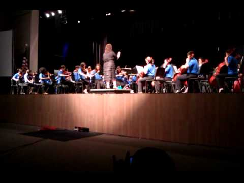 Freedom middle school orchestra 2011-12