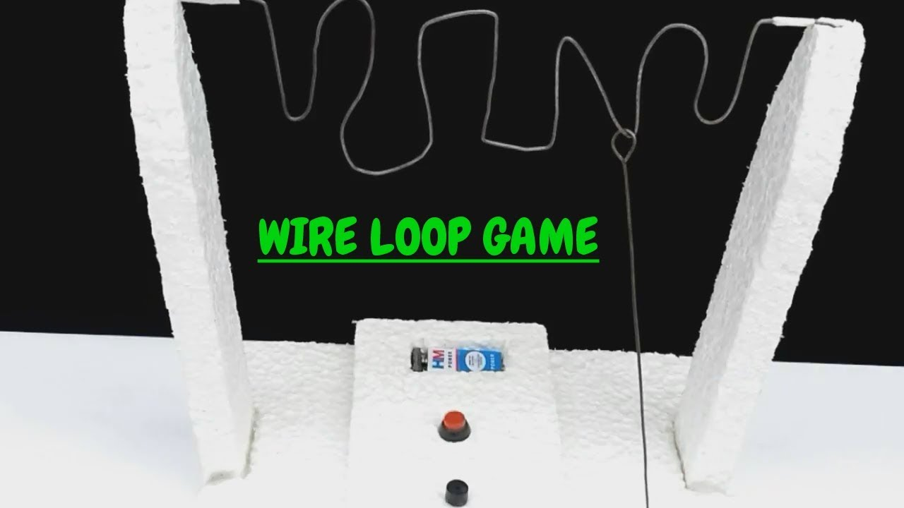 How To Make Wire Loop Game Buzz Diy Youtube Wiring Diagram