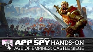 Age of Empires: Castle Siege | iOS iPhone / iPad Hands-On