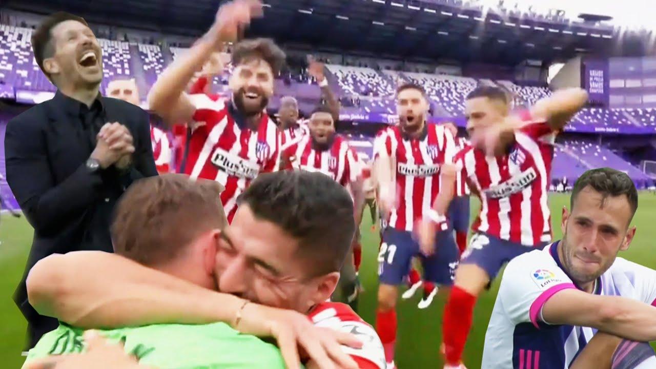 Atlético Madrid winning La Liga | Players Reaction | Celebration 2021 HD