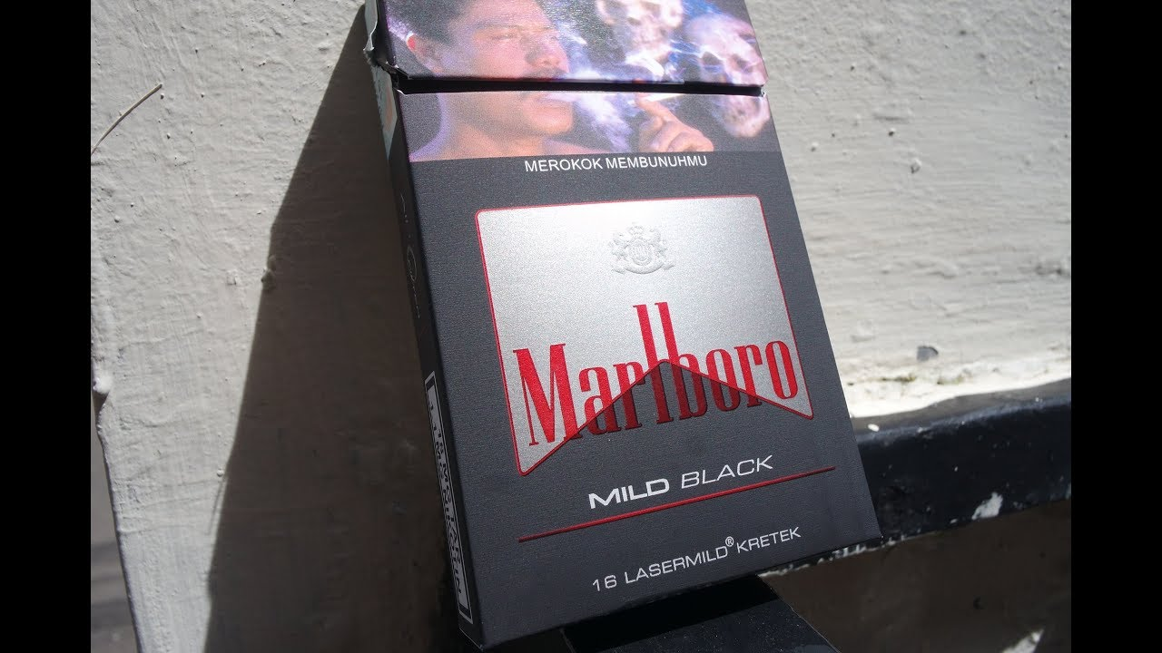 Review Marlboro Black Mild Discover The Powerful Mild Youtube