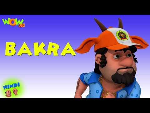 Bakra - Motu Patlu in Hindi - 3D Animation Cartoon for Kids -As seen on Nickelodeon thumbnail
