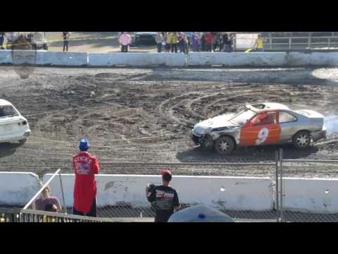2016 Santa Clara County Fair Demolition Derby