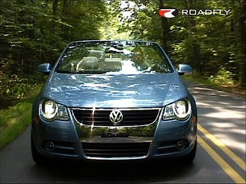 roadflytv 2008 volkswagen eos convertible car review. Black Bedroom Furniture Sets. Home Design Ideas