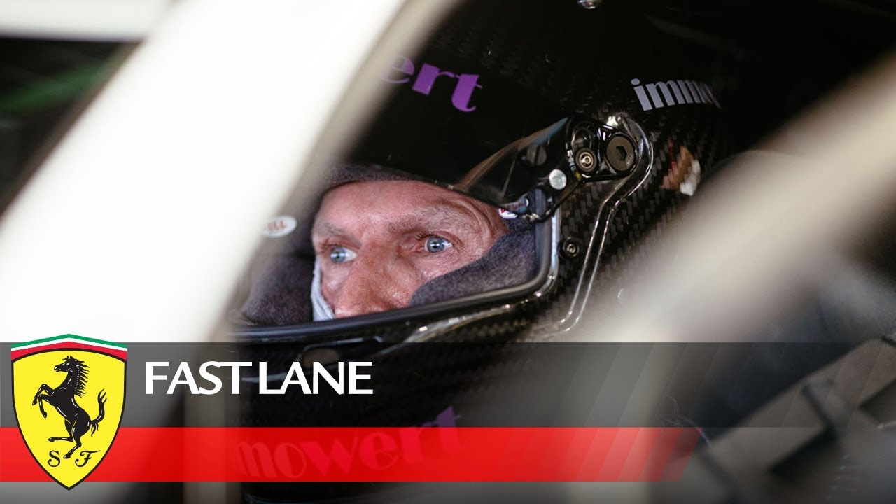 Fast Lane presents the Ferrari Challenge driver Michael Simoncic