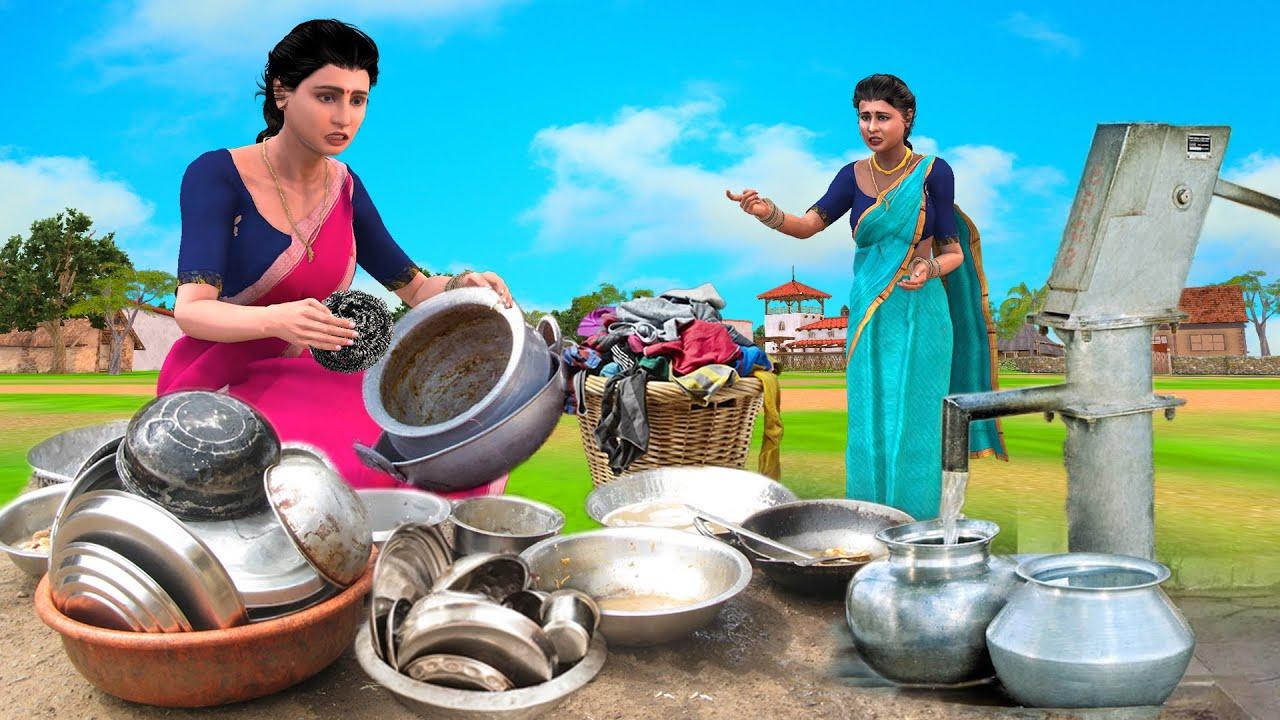 மருமகளை வேலைக்காரி போல நடத்தும் மாமியார் | Mamiyar Vs Marumagal |Tamil Stories | Tamil Comedy video