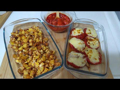 Kahvaltılar İçin 3 Pratik Tarif/Yumurtalı Patates/Kaşarlı Domates Kızartması / Sosis/Seval Mutfakta