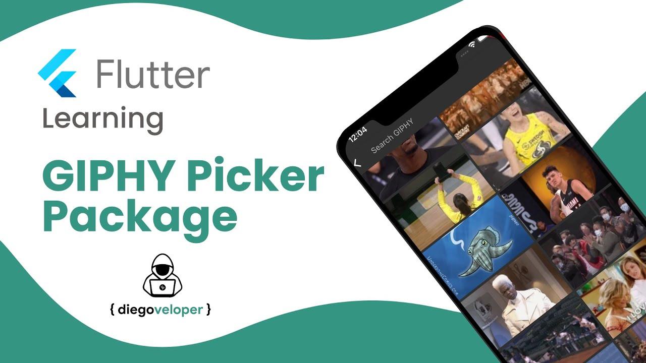 Flutter GIPHY Picker Package | Open Source | Flutter Learning