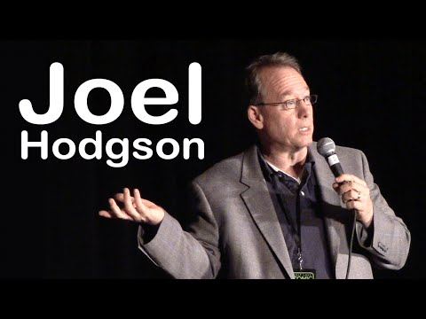 Joel Hodgson of MST3K Q&A at Comic Con 2015