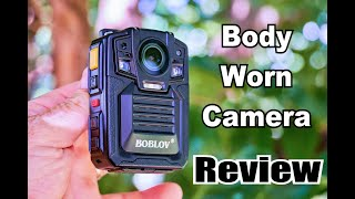 REVIEW: Boblov Body Camera for Law Enforcement and First Responders