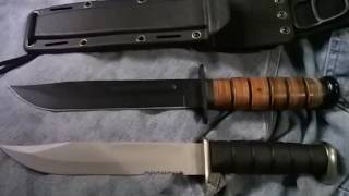 Save Your Money & Get a Real KA-BAR ! Cheesy Fighting Knife Options to Avoid - The Art of Prepping thumbnail