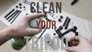 BEST way to Clean Your Dirty Tripod