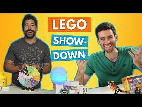 Professional LEGO Builders Face Off in LEGO Challenges! | Brick X Brick