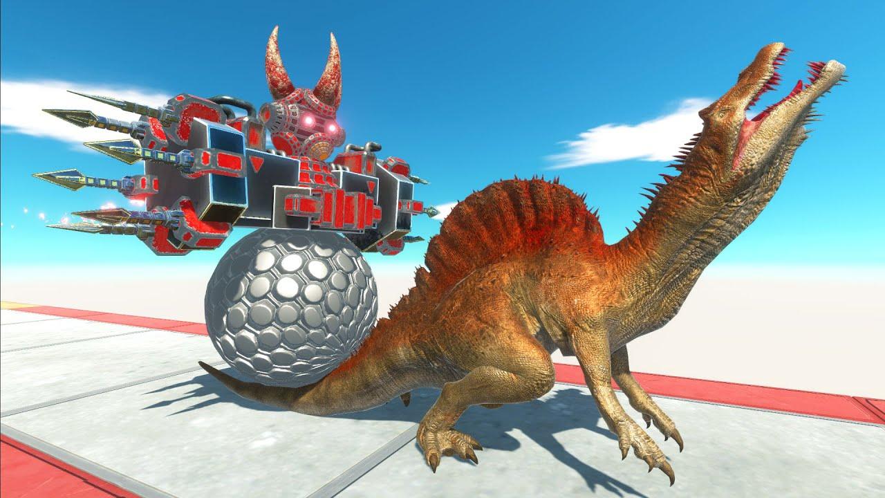 Sphere Bot Crush - Animal Revolt Battle Simulator