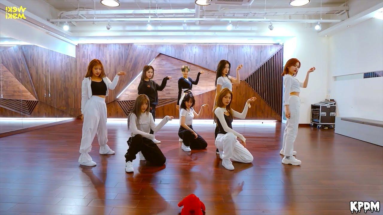 Weki Meki (위키미키) - COOL Dance Practice (Mirrored)