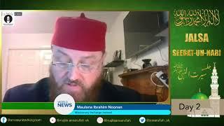 Virtual Seeratun Nabi Jalsa held in the UK