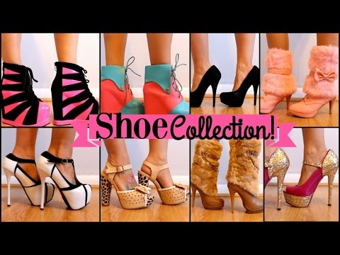 My Shoe Collection - Try On Session!