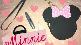 DIY : Bolsa da Minnie de EVA   #MinnieMouse