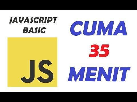 Tutorial Cepat Javascript Dasar HANYA 35 Menit untuk Pemula thumbnail