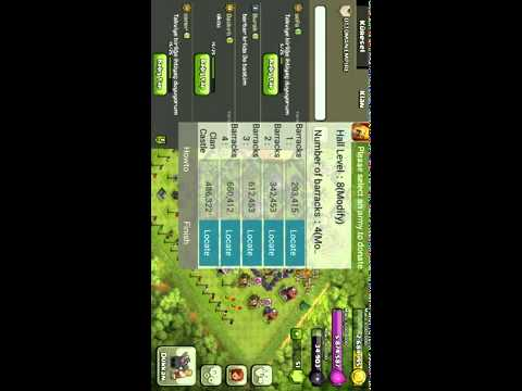 Clash of clans android bot 100 de 100