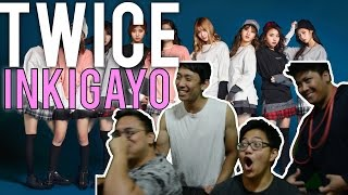 TWICE | INKIGAYO KNOCK KNOCK + INTRO Reaction