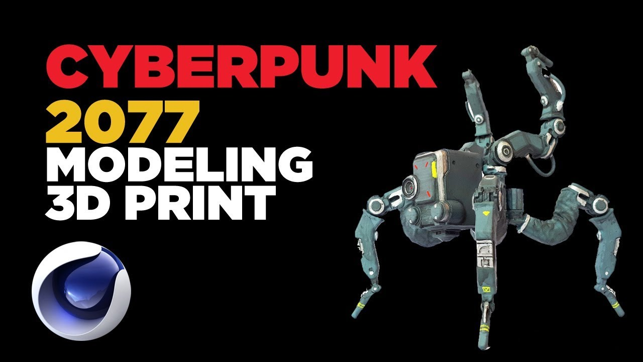 cyberpunk 2077 robot utorial cinema 4d