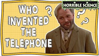Horrible Science - Who Invented the Telephone? | Alexander Graham Bell | Fun Science | Nugget