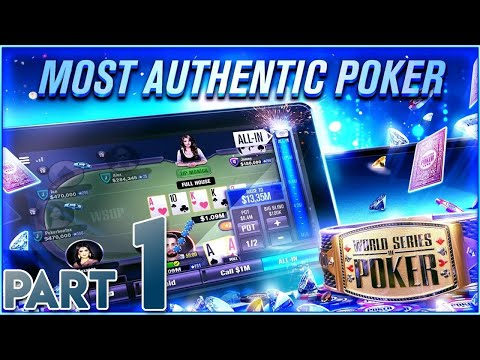 WSOP World Series Of Poker By Playtika - Gameplay Walkthrough Part 1 [First Impressions]