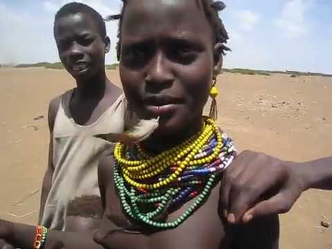 """""""What is your name?"""" - African tribe children in Ethiopia"""