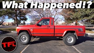 What Happened To The Jeep Comanche!? Did We SELL IT?