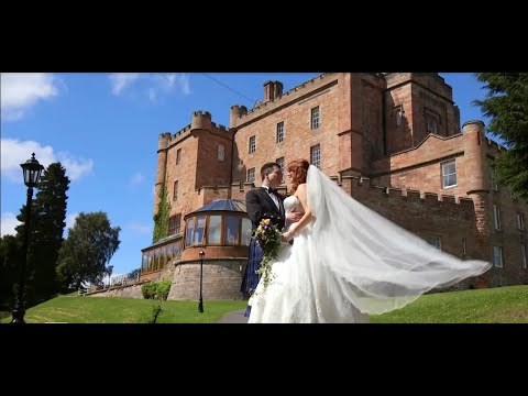 Dalhousie Castle wedding video -  Lorna & Scott