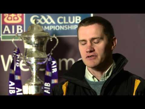 John McEntee talks about winning the AlB All Ireland Club Championship